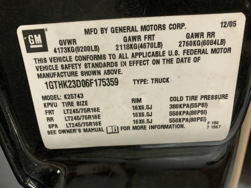 GMC Sierra 2500HD 2006 price $21,999
