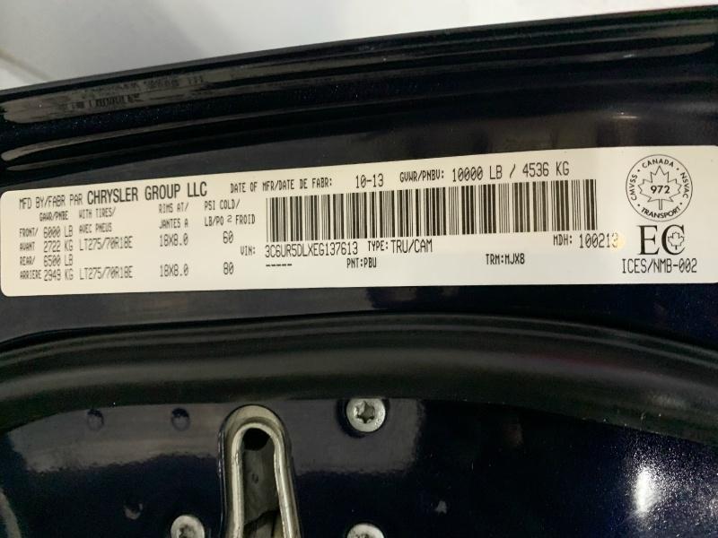 RAM 2500 2014 price $28,995