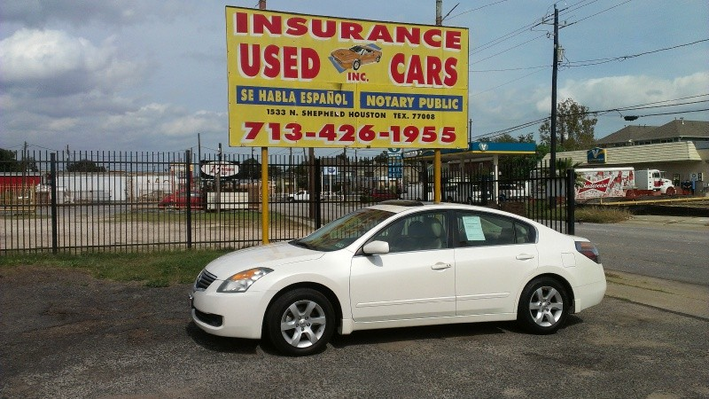 Nissan Altima SL 2008 price $0