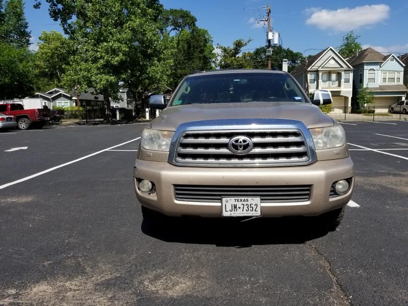 Toyota Sequoia Limited 2008 price $0
