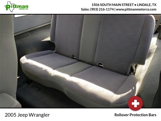 Jeep Wrangler 2005 price $16,900