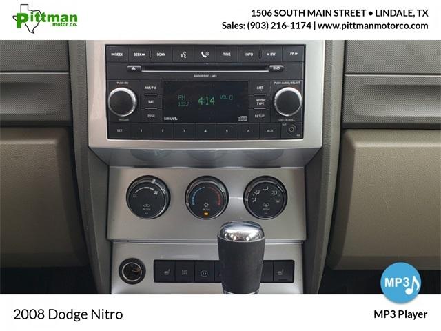 Dodge Nitro 2008 price Call for Pricing.