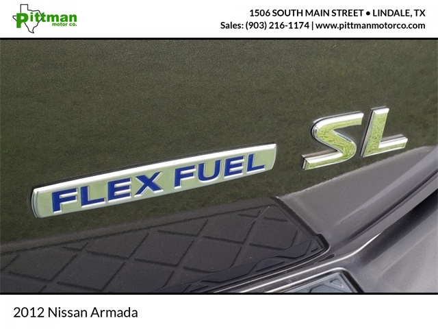 Nissan Armada 2012 price Call for Pricing.