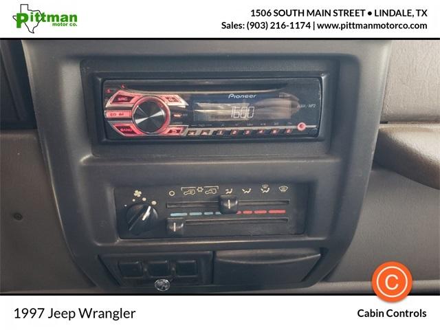 Jeep Wrangler 1997 price $7,499