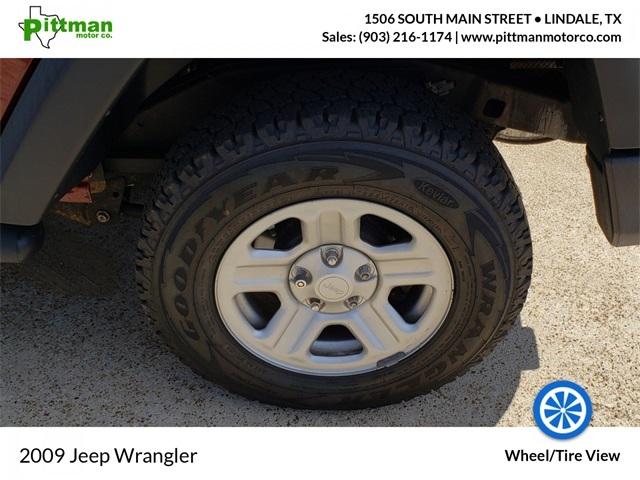 Jeep Wrangler 2009 price $14,678
