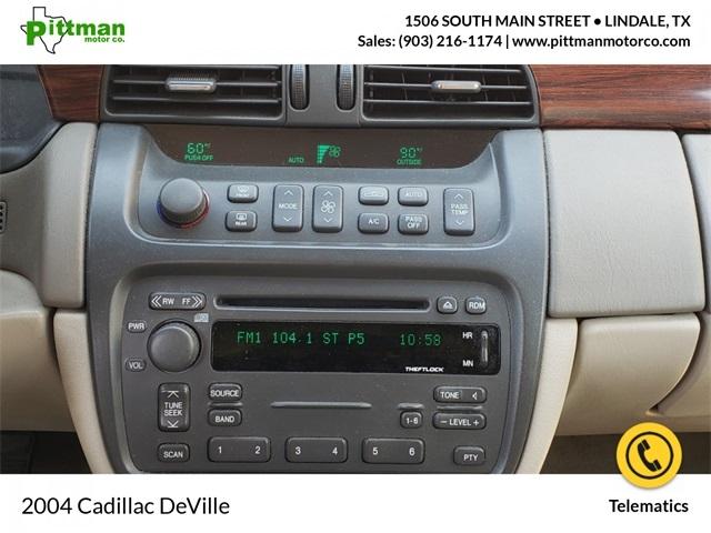 Cadillac DeVille 2004 price $5,327