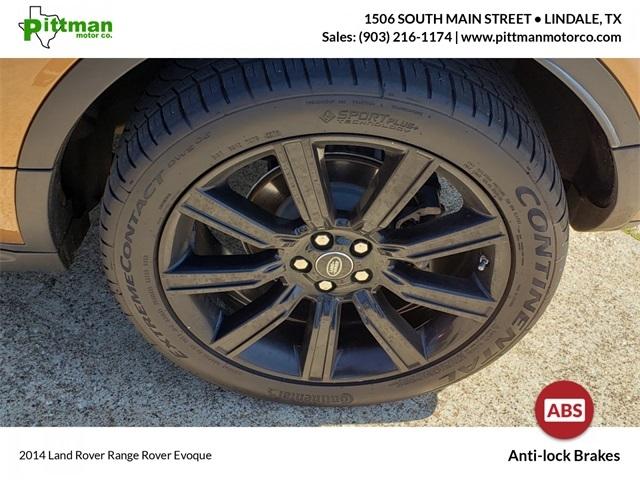 Land Rover Range Rover Evoque 2014 price $21,899