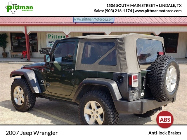 Jeep Wrangler 2007 price $14,913