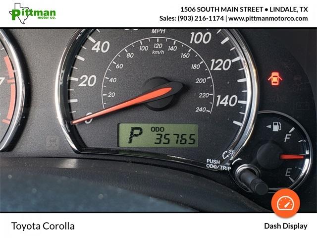 Toyota Corolla 2011 price $10,995