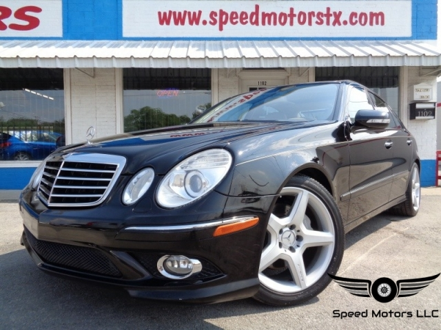 Awesome 2009 Mercedes Benz E Class