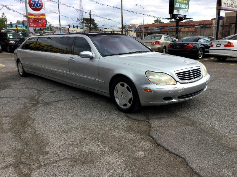 Mercedes-Benz S-Class 2001 price $13,990