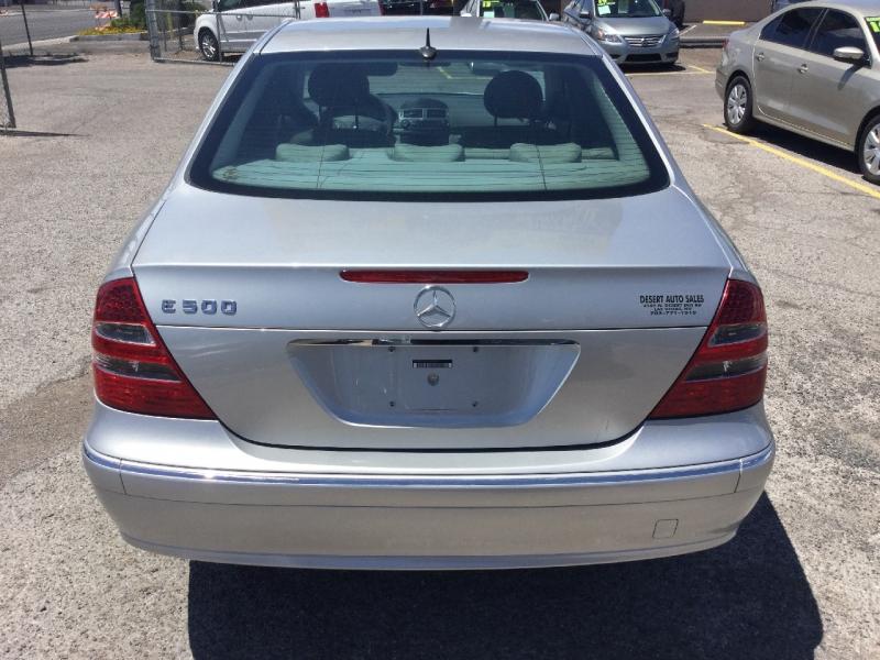 Mercedes-Benz E-Class 2004 price $6,295