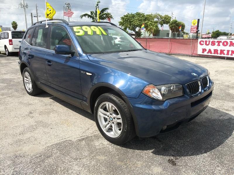 BMW X3 2006 price $4,995