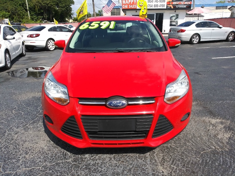 Ford Focus 2013 price $4,994