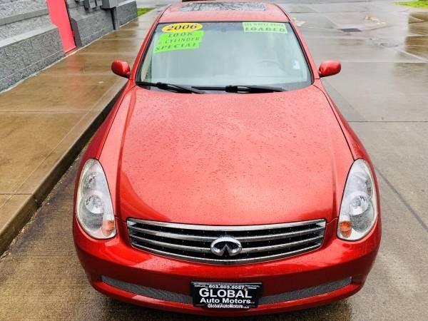 Infiniti G35 Sedan 2006 price $5,900