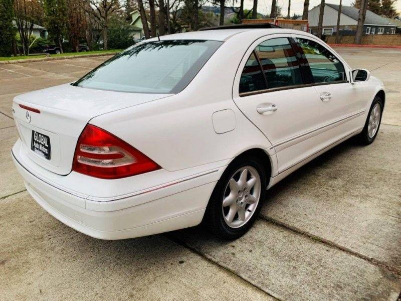 Mercedes-Benz C-Class 2001 price $3,900
