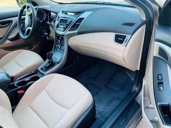 Hyundai Elantra 2015 price $12,500