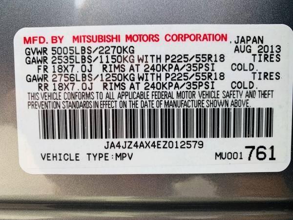 Mitsubishi Outlander 2014 price $16,800