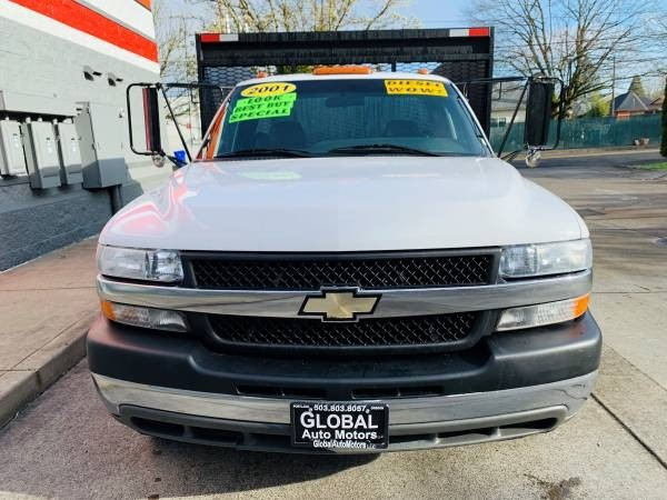 Chevrolet Silverado 3500 12ft Dump 2001 price $19,800