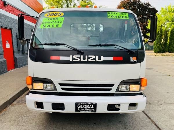 Isuzu W3S042 NPR GAS REG 14ft Dump 2005 price $22,900