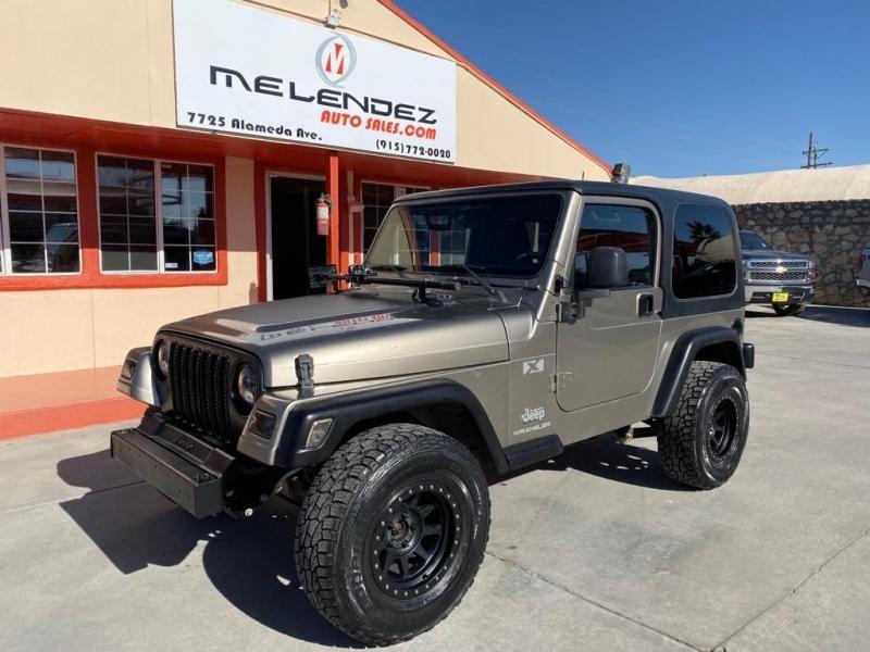 Jeep Wrangler 2004 price $11,995