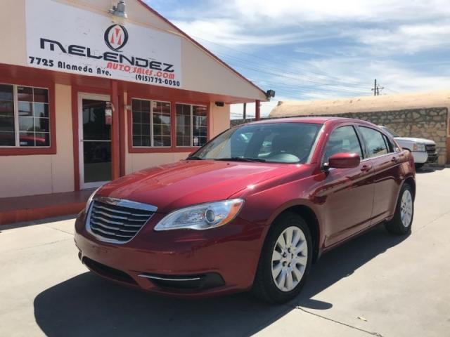 Toyota Dealership El Paso Tx >> 2012 Chrysler 200 4dr Sdn LX - Inventory | Melendez auto ...