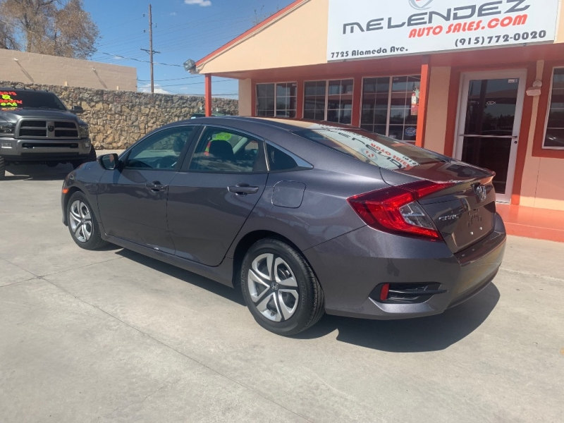 Honda Civic Sedan 2017 price $16,995