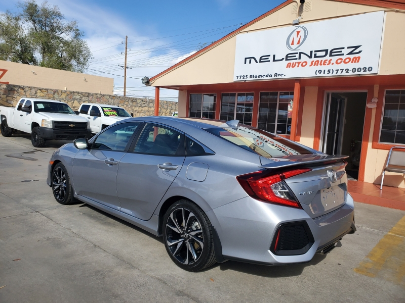 Honda Civic Si Sedan 2018 price $22,995