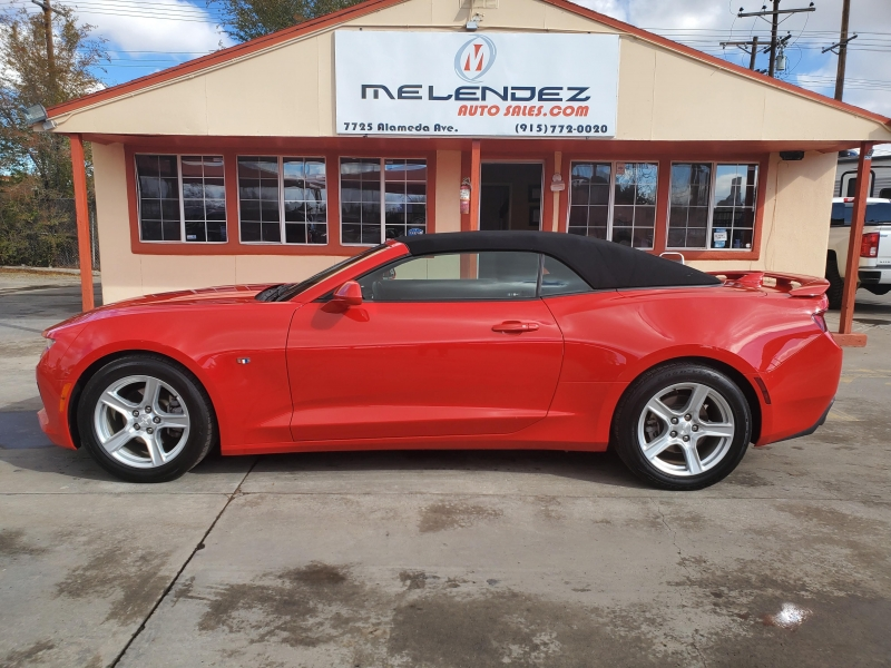 Chevrolet Camaro 2018 price $22,995