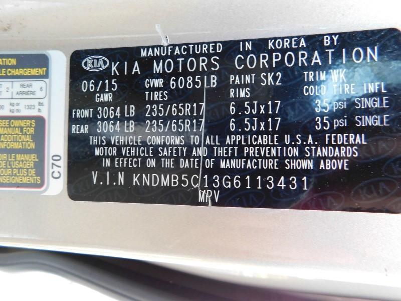 Kia Sedona 2016 price $2,000 Down