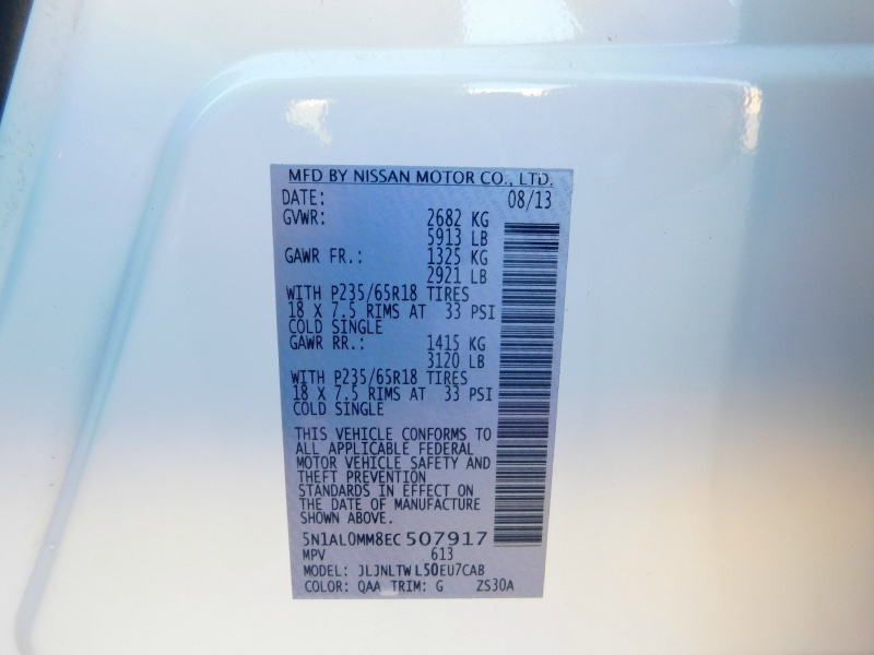Infiniti QX60 2014 price $3,000 Down