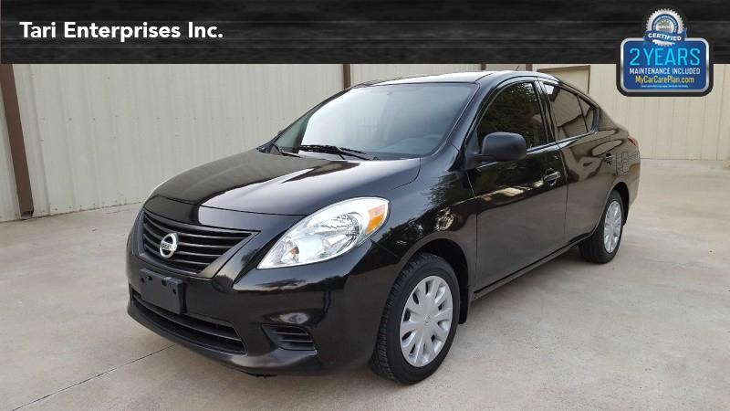 Nissan Versa 2012 price $5,900