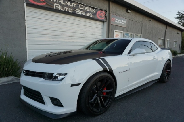2015 Chevrolet Camaro SS 1LE Coupe White 6 Speed - Inventory ...