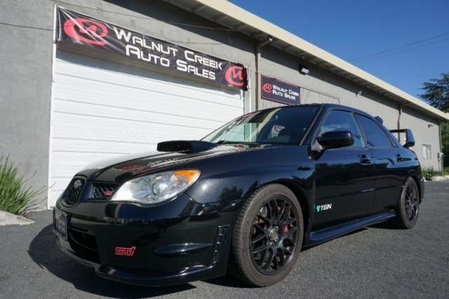 Walnut Creek Subaru >> 2007 Subaru Impreza Sedan Wrx Sti Inventory Walnut Creek Auto