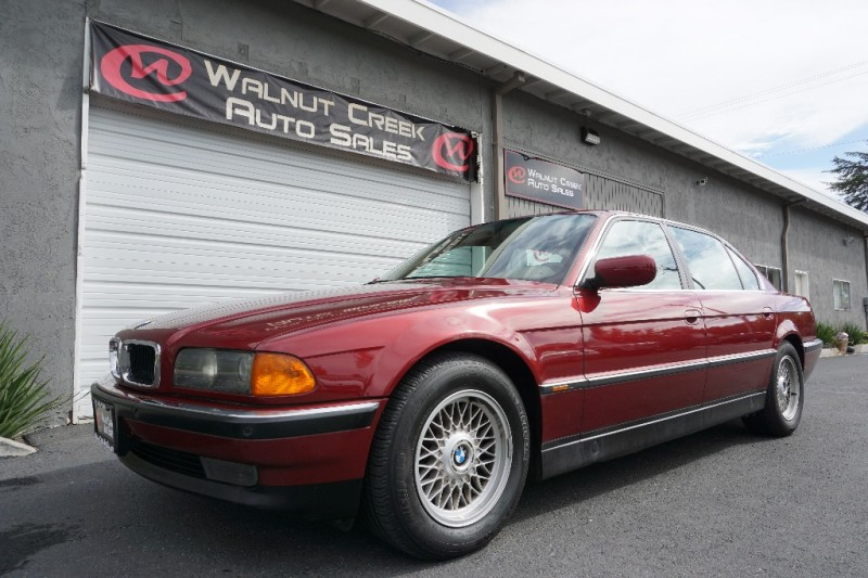 1997 bmw 7 series 740il one owner inventory walnut. Black Bedroom Furniture Sets. Home Design Ideas