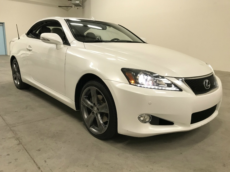 Lexus IS 250C 2012 price $15,900