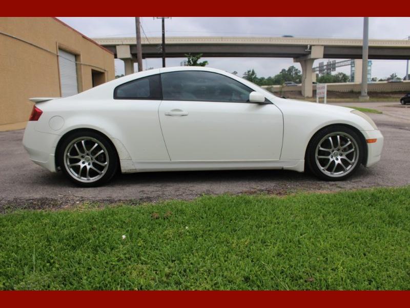 Infiniti G35 Coupe 2005 price $4,700