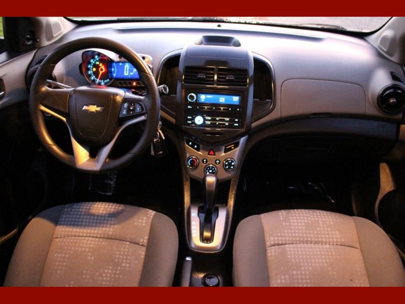 Chevrolet Sonic 2013 price $4,599
