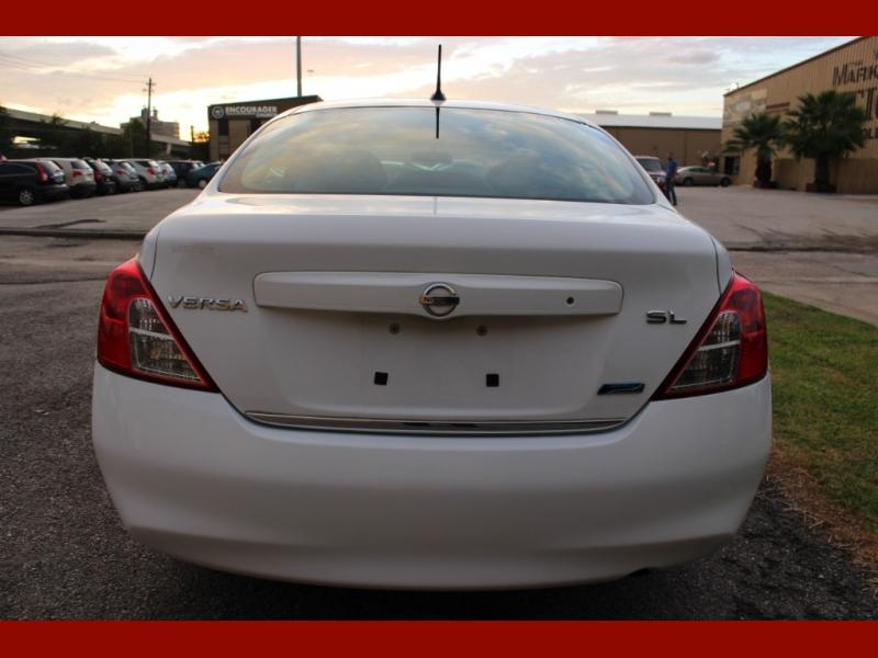 Nissan Versa 2012 price $4,999