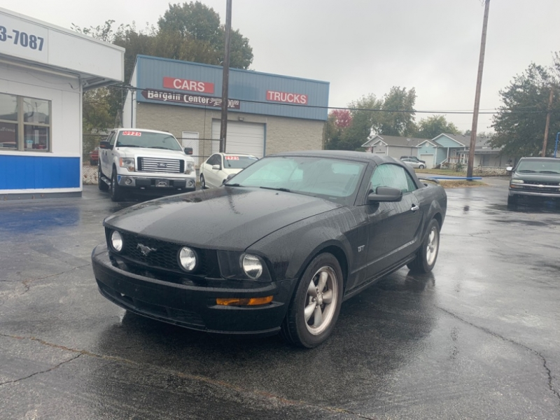 2007 Ford Mustang Gt Premium >> 2007 Ford Mustang 2dr Conv Gt Premium