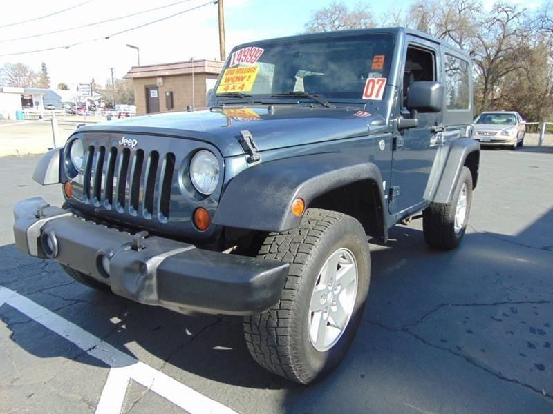 Jeep Wrangler 2007 price $13,599