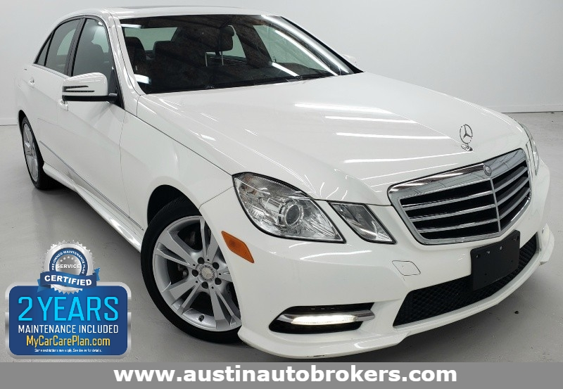 2013 Mercedes Benz E 350 Luxury Austin Auto Brokers Certified