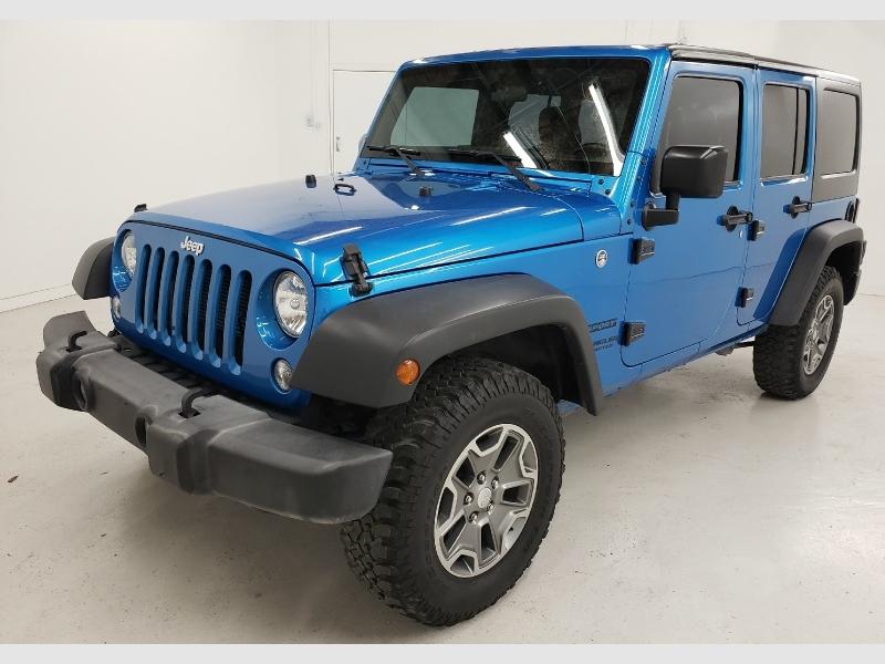 Jeep Wrangler Unlimited 2016 price $25,600