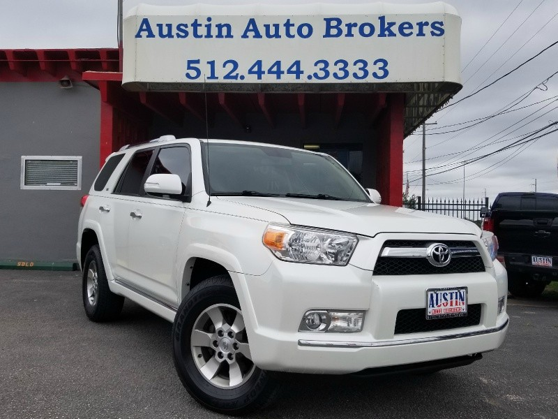 2011 toyota 4runner sr5 certified pre owned w warranty austin auto brokers certified pre. Black Bedroom Furniture Sets. Home Design Ideas