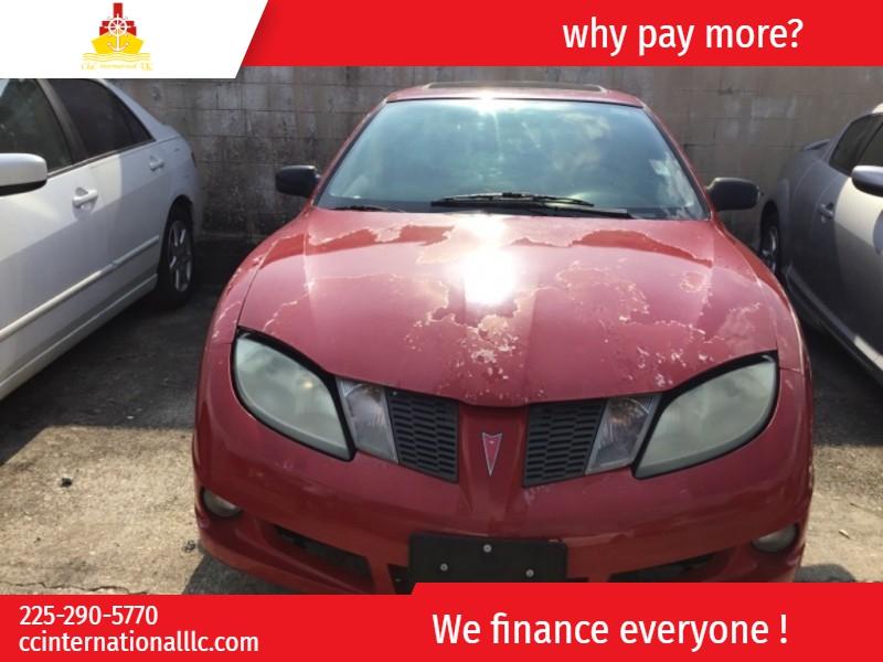 Pontiac Sunfire 2003 price $1,500