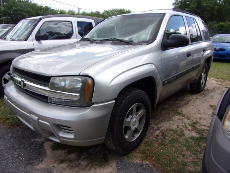 2004 Chevrolet Trailblazer >> 2004 Chevrolet Trailblazer Ls