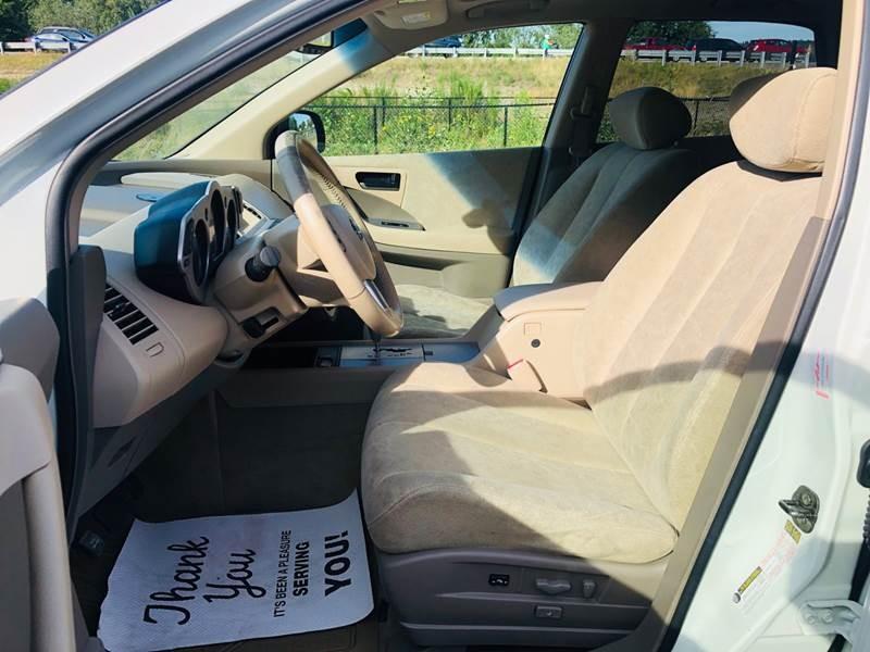 Nissan Murano 2004 price $5,497