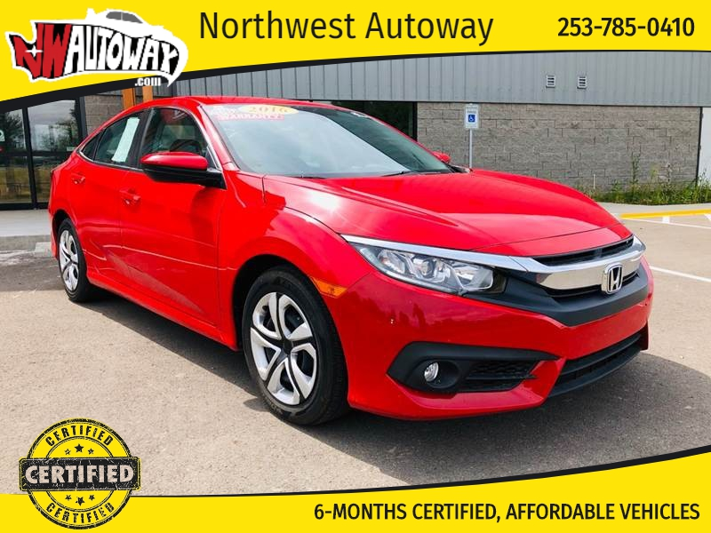 Honda Civic 2016 price $14,997