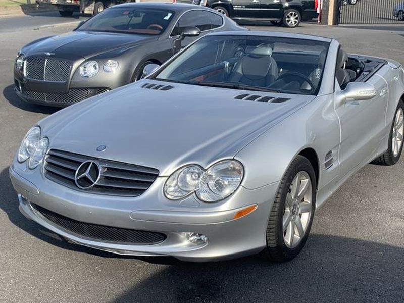Mercedes-Benz SL-Class 2003 price $13,595