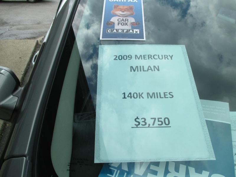 Mercury Milan 2009 price $3,495